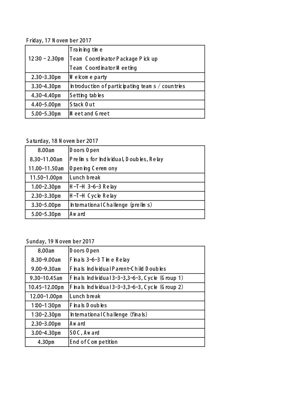 スポーツスタッキング アジアチャンピオン大会