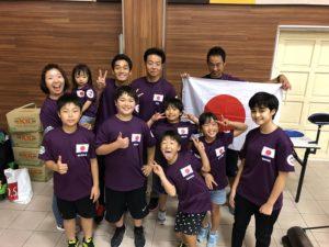 2018年アジアオープンマレーシア大会