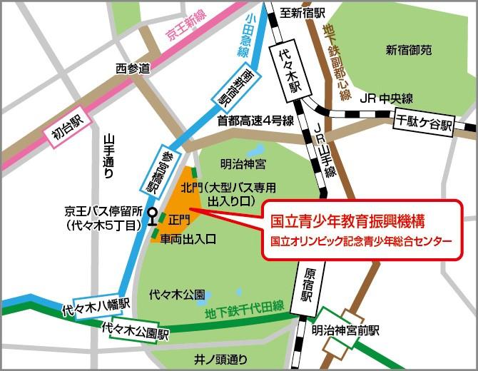 ジャパンオープンまでの線路案内