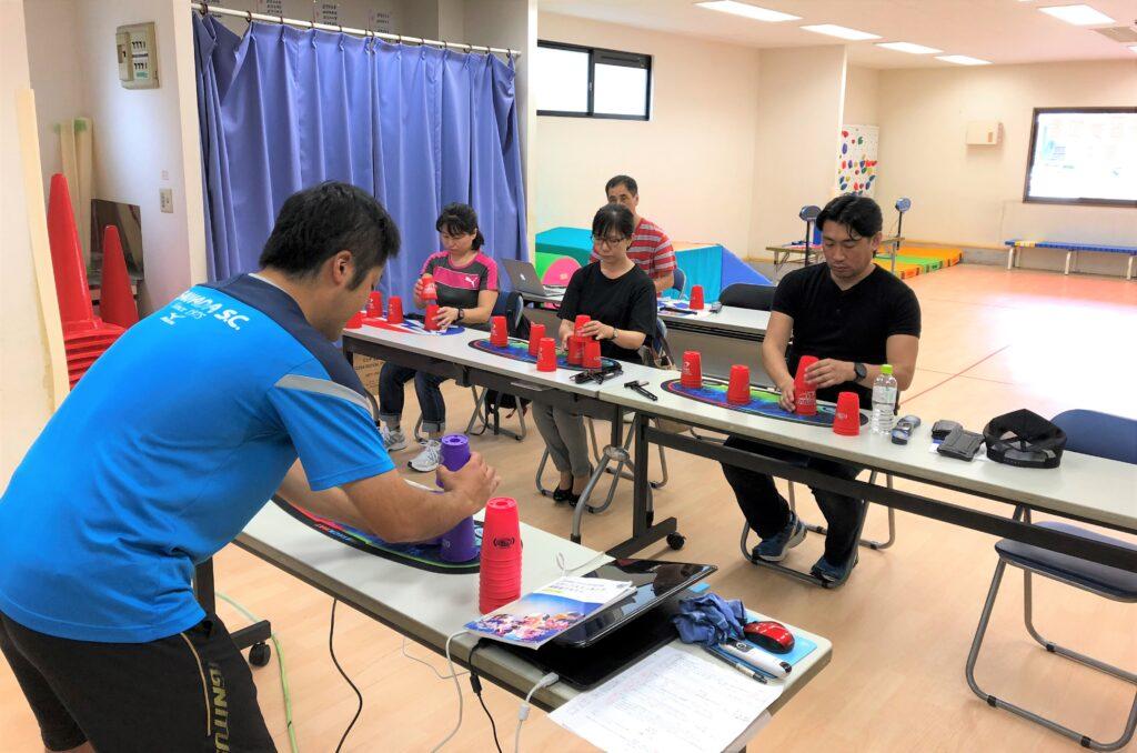 スポーツスタッキング講習会
